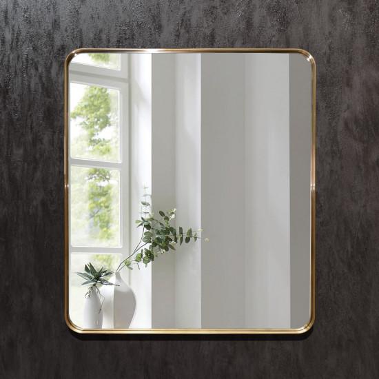 Зеркало в латунной раме Марнелл в интернет-магазине ROSESTAR фото