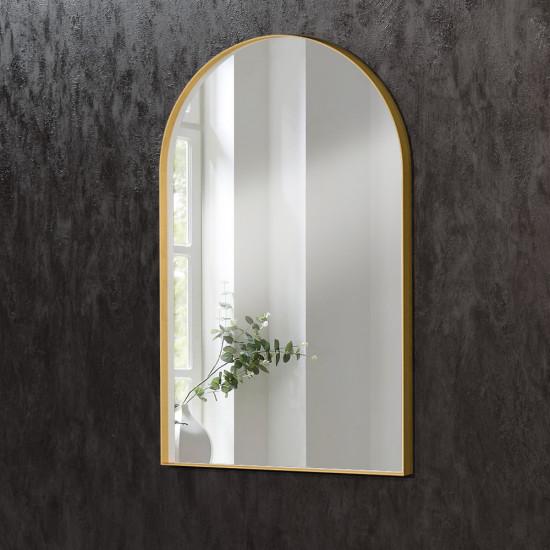 Зеркало в форме арки в раме из латуни Арчед в интернет-магазине ROSESTAR фото