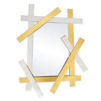 Зеркало в металлической раме Шале