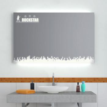 Зеркало с LED подсветкой Рокстар