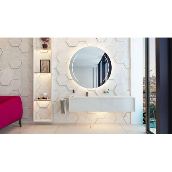 Круглое зеркало с подсветкой Венера в интернет-магазине ROSESTAR фото