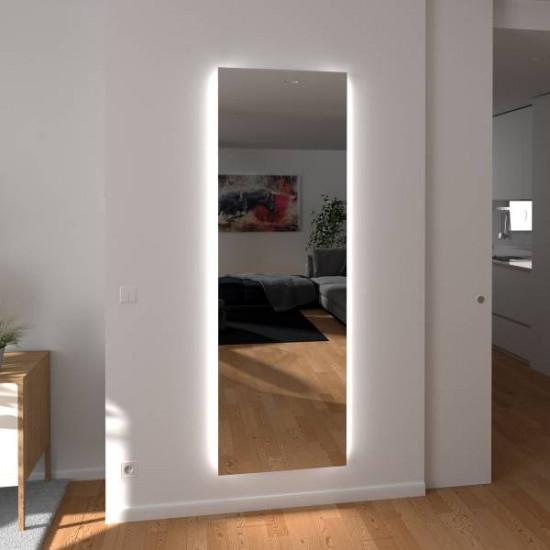 Зеркало с боковой подсветкой в полный рост Камелия в интернет-магазине ROSESTAR фото
