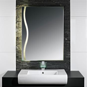 Зеркало с LED подсветкой Аделина-2