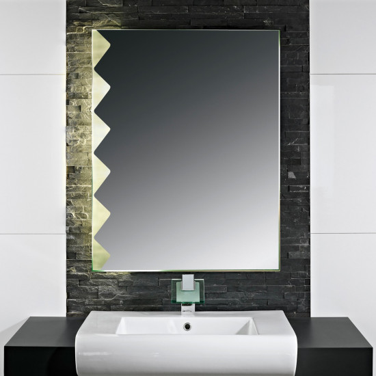Зеркало с LED подсветкой Альфредо в интернет-магазине ROSESTAR фото
