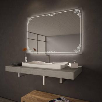 Зеркало с LED подсветкой Алина