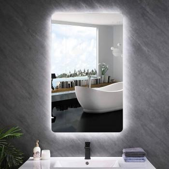 Зеркало настенное с задней подсветкой эмбилайт Эмбиенс