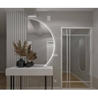 Полукруглое зеркало с задней подсветкой Азора