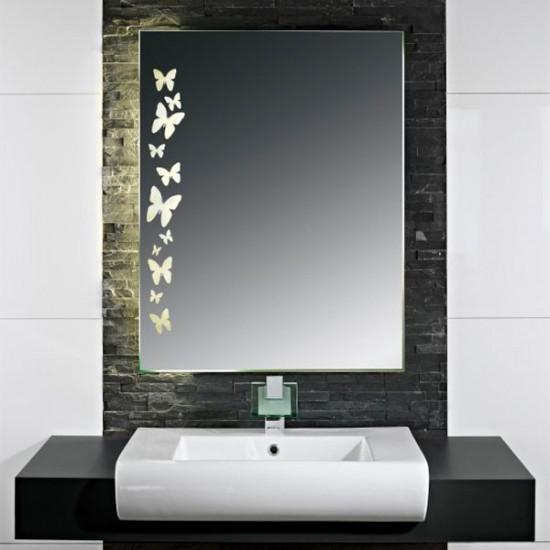 Зеркало с LED подсветкой Бабочки 2 в интернет-магазине ROSESTAR фото
