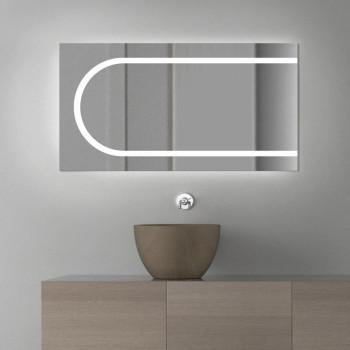 Зеркало с LED подсветкой Баухаус