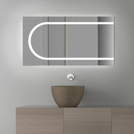 Зеркало с LED подсветкой Баухаус в интернет-магазине ROSESTAR фото