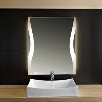 Зеркало с LED подсветкой Дабл Лайн