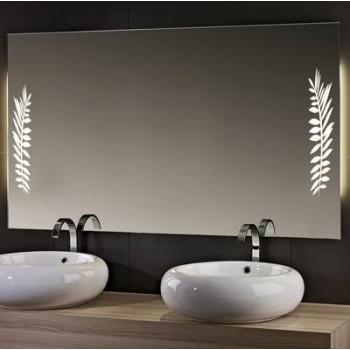Зеркало со светодиодной LED-подсветкой Дуо