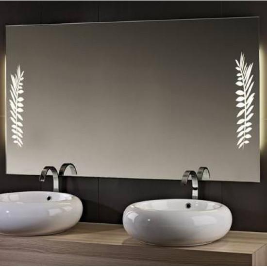 Зеркало со светодиодной LED-подсветкой Дуо в интернет-магазине ROSESTAR фото