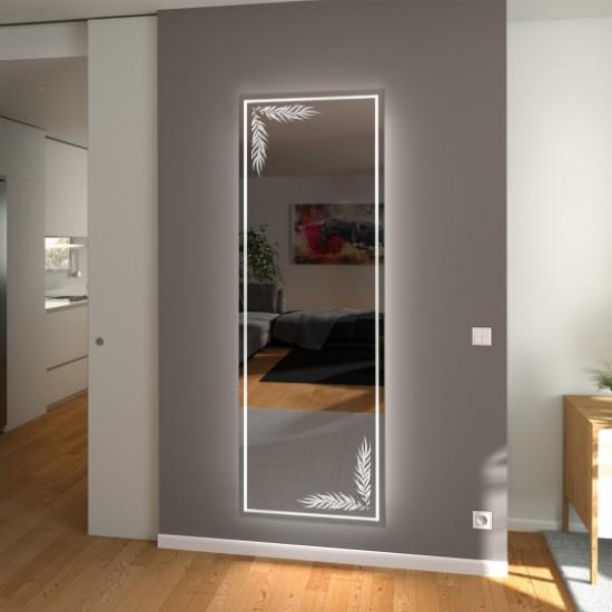 Зеркало с подсветкой в полный рост с рисунком Феона в интернет-магазине ROSESTAR фото
