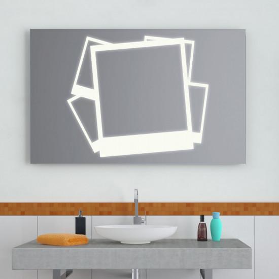 Зеркало с LED подсветкой Фото