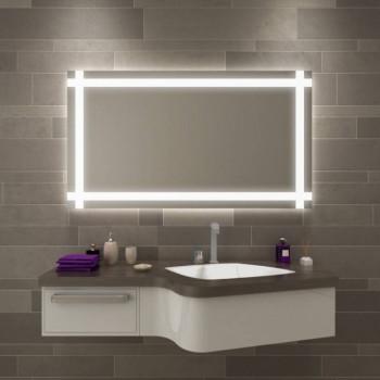 Зеркало настенное со светодиодной LED-подсветкой Гаспар