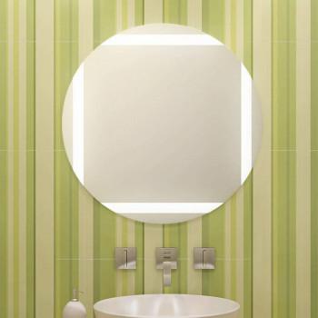 Круглое зеркало с LED подсветкой Хэйли