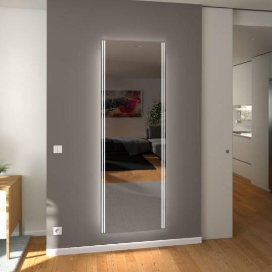 Зеркало с подсветкой в полный рост Катания в интернет-магазине ROSESTAR фото