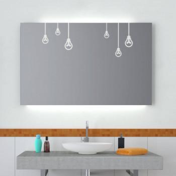 Зеркало с подсветкой Лэмп