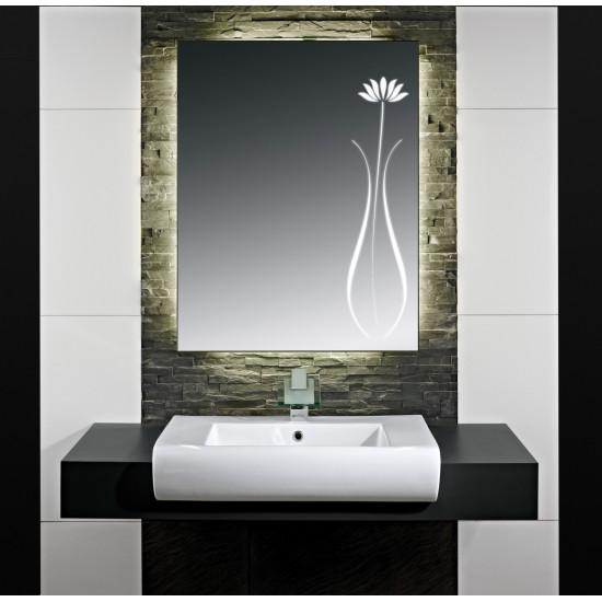 Зеркало с LED подсветкой Лора в интернет-магазине ROSESTAR фото