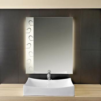 Зеркало с LED подсветкой Харт