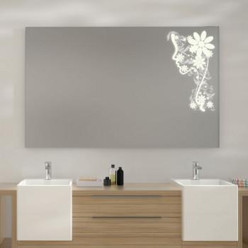 Зеркало с LED подсветкой Нина