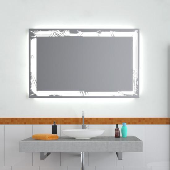 Зеркало с LED подсветкой Нора в интернет-магазине ROSESTAR фото