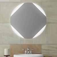 Круглое зеркало с LED подсветкой Оливия