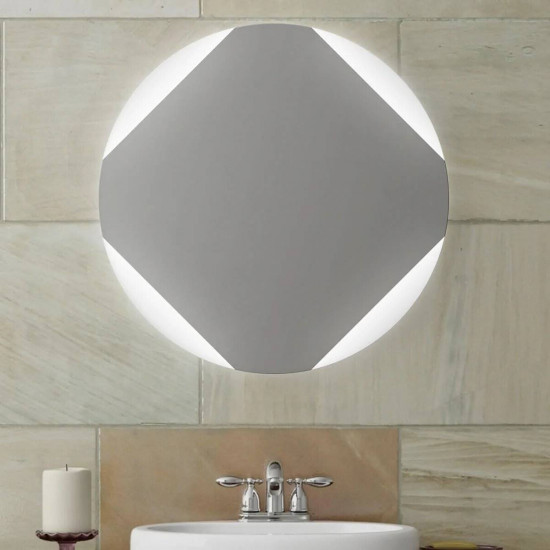 Круглое зеркало с LED подсветкой Оливия в интернет-магазине ROSESTAR фото