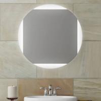Круглое зеркало с LED подсветкой Оливия 2