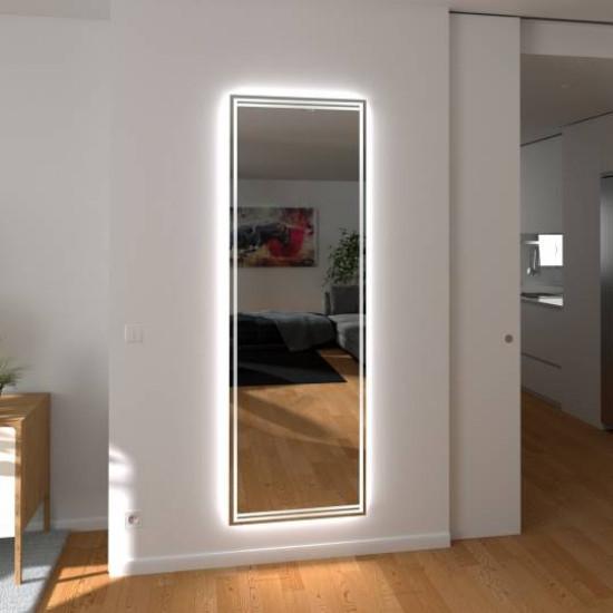 Зеркало с подсветкой в полный рост Пескара в интернет-магазине ROSESTAR фото