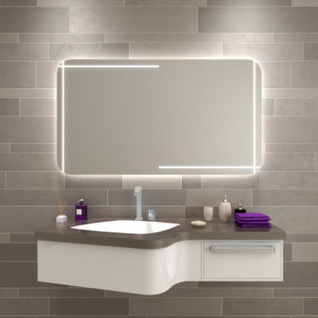 Зеркало настенное со светодиодной LED-подсветкой Рэйден