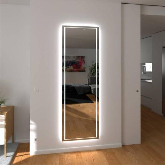 Зеркало с подсветкой в полный рост Рене в интернет-магазине ROSESTAR фото