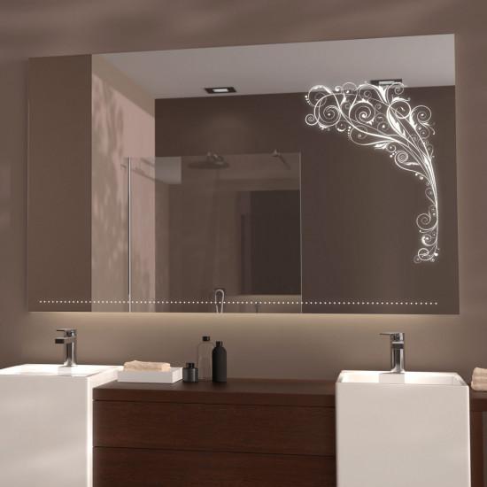 Зеркало с LED подсветкой Лэйла в интернет-магазине ROSESTAR фото