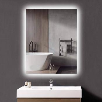 Зеркало с задней LED подсветкой Кристалл