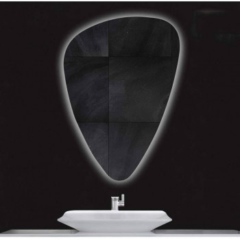 Зеркало неправильной формы с подсветкой Стоун