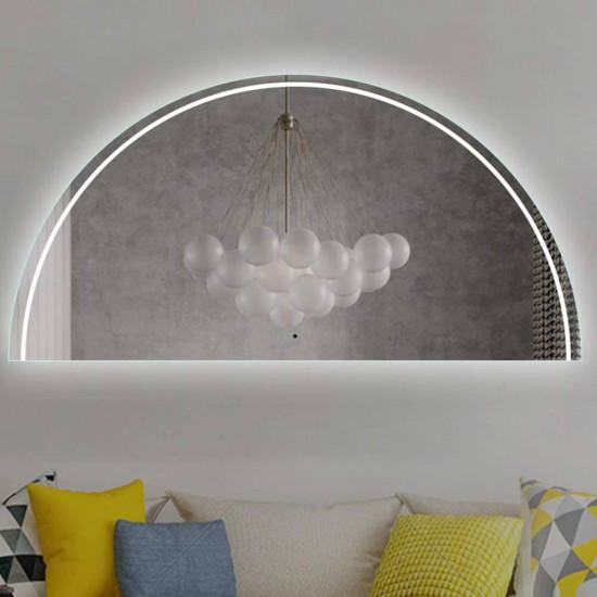 Полукруглое зеркало с подсветкой Санрайз в интернет-магазине ROSESTAR фото