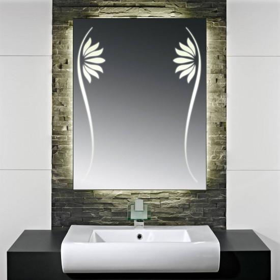 Зеркало с LED подсветкой Верчелли в интернет-магазине ROSESTAR фото