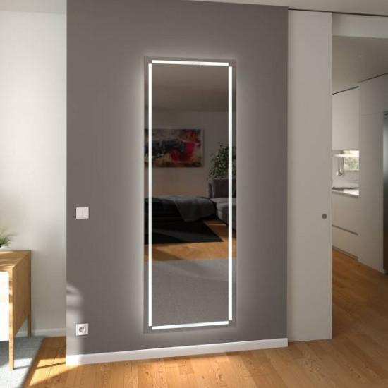 Зеркало с подсветкой в полный рост Верона в интернет-магазине ROSESTAR фото