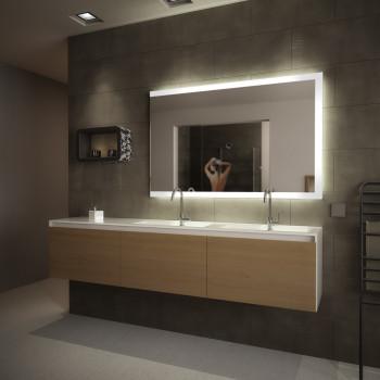 Зеркало прямоугольное с LED подсветкой Висенте