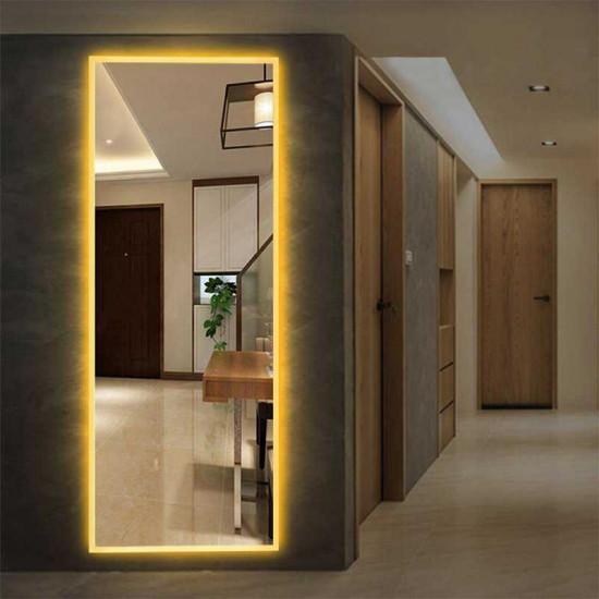 Зеркало большое напольное и настенное в полный рост с LED подсветкой Джессика в интернет-магазине ROSESTAR фото