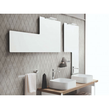 Геометрическое зеркало со светильником Talisman
