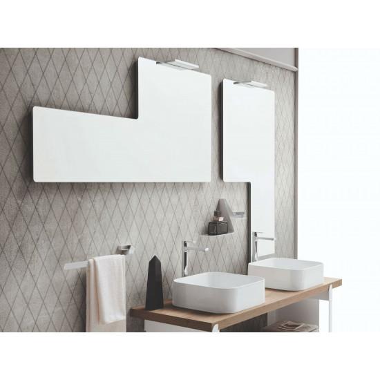 Геометрическое зеркало со светильником Talisman в интернет-магазине ROSESTAR фото