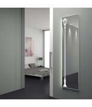 Зеркало с подсветкой в полный рост в алюминиевой раме Дрезден