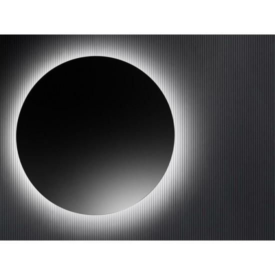 Круглое парящее зеркало с задней эмбилайт LED подсветкой Фалпер в интернет-магазине ROSESTAR фото
