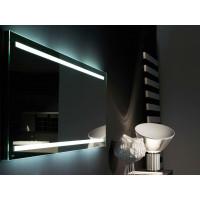 Зеркало для ванной со светодиодной LED-подсветкой Инфралиа
