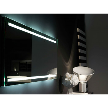 Зеркало для ванной со светодиодной LED-подсветкой Infralia