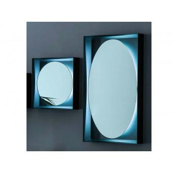 Круглое и овальное зеркало с задней эмбилайт LED подсветкой Planeta