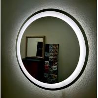 Круглое настенное зеркало со светодиодной LED-подсветкой Марстон