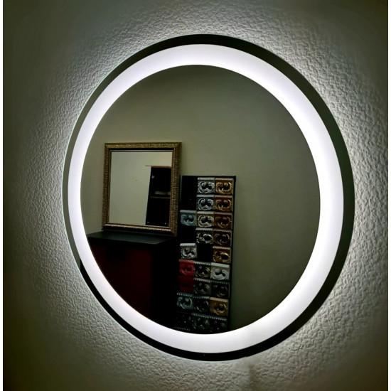 Круглое настенное зеркало со светодиодной LED-подсветкой Marston в интернет-магазине ROSESTAR фото